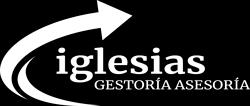 Logo blanc Gestoría Asesoría Iglesias 2020